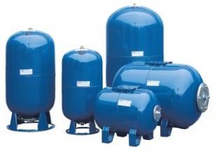 Разширителни съдове, напорни хидрофорни съдове