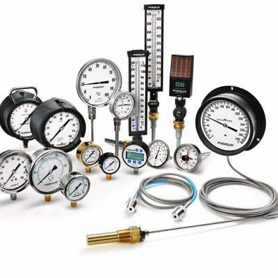 Термометри, манометри, термоманометри